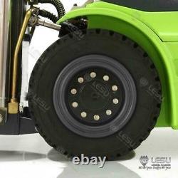 1/14 LESU Linde Forklift RC Transfer Truck Pump Motor Painted Model Sound ESC