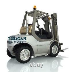 1/14 LESU RC Model Linde Forklift Transfer Car Truck ESC Motor Radio Unassembled