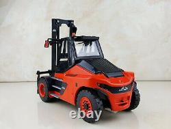 1/25 Scale Linde Diesel Heavy Forklift Trucks Diecast Model Collection Toy Gift