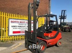 1996 Linde H25D, 2.5T Diesel Used Forklift Truck Cabin 4055 hours