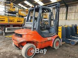 1998 Linde H40d 4000kg Diesel Counterbalance Forklift Truck Good Yard Truck