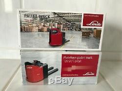 2 x Linde Pallet truck Stapler Gabelstapler forklift Neu OVP