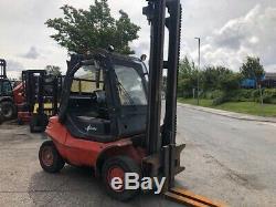 2000 Linde H40D-04, 4T Diesel Used Forklift Truck Cabin 9200 hours