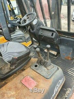 2003 Linde H35d 3500kg Diesel Counterbalance Forklift Great Yard Truck