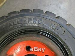 All-pro 15x 4-1/2-8 Linde Fork Lift Truck Tire Solid Pneumatic (lot Of 2)