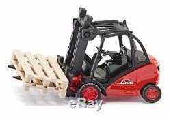 BEST Siku 1 50 Forklift Truck Style Name Forklift Die Cast Linde Fork L UK STOC