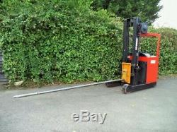 BT Reach Truck/ Forklift With Carpet Boom/ Pole- Like Linde Hyster Toyota