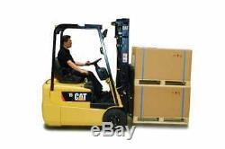 CAT EP15KRT Electric Fork Lift Truck Toyota Hyster Linde Yale DW0560