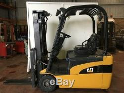 CAT EP18NT Electric Fork Lift Truck Toyota Hyster Linde Yale DW0561