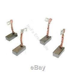 Carbon brushes for Linde forklift, pallet trucks 25,5 x 13 x 9 mm