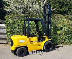 Caterpillar 3.5 ton Diesel Forklift Truck / Like Linde Toyota Hyster Komatsu