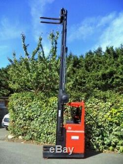 Details about BT Reach Truck-Forklift- Electric -Narrow Aisle -Hyster, Linde