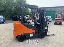 Doosan /linde/caterpillar 1.8 Ton Diesel Forklift Truck