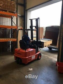 Electric Fork Lift Truck Linde E15z-02