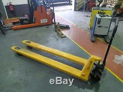 Forklift, Hand Pallet Truck, ExellentCond With 2 Metre Long Forks. Not Toyota