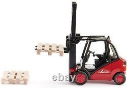 Forklift Truck Model Die Cast Linde Fork Lift Truck 150 Scale Pre Built Toy