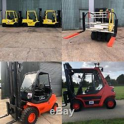 Forklift truck Linde Toyota Hyster Puma Heli All Types Available