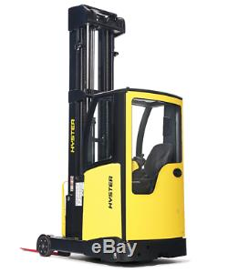 HYSTER R1.6 ELECTRIC REACH TRUCK Fork Lift Truck Toyota Hyster Linde Yale DW0573