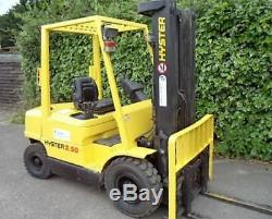 Hyster Diesel Counterbalance forklift truck, Not Gas Linde Toyota Caterpillar