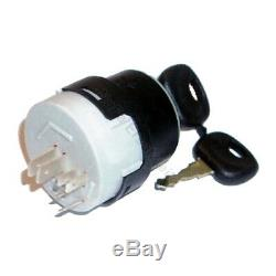 Ignition switch 14603 for Linde forklift, pallet truck (6 pin, 3 positions)