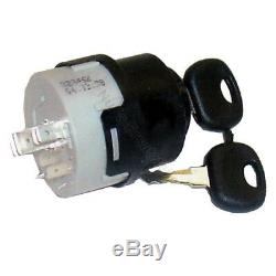 Ignition switch 14603 for Linde forklift, pallet truck (7 pin, 3 positions)