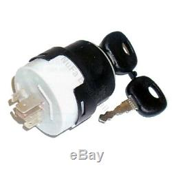 Ignition switch 14603 for Linde forklift, pallet truck (7 pin, 4 positions)