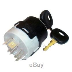 Ignition switch 14603 for Linde forklift, pallet truck (9 pin, 4 positions)
