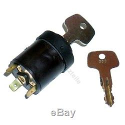 Ignition switch 530 for Linde forklift, pallet truck (3 pin, 2 positions)