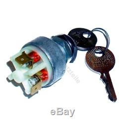 Ignition switch 695 for Linde forklift, pallet truck (2 pin, 2 positions)