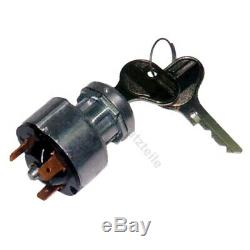 Ignition switch E11 for Linde forklift, pallet truck (3 pin, 3 positions)