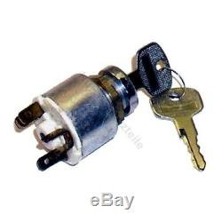Ignition switch FS880 for Linde forklift, pallet truck (5 pin, 3 positions)