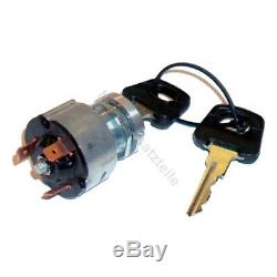Ignition switch K11 for Linde forklift, pallet truck (3 pin, 3 positions)
