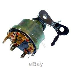 Ignition switch LUCAS for Linde forklift, pallet truck (7 pin, 4 positions)