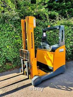 Jungheinrich Reach Truck/Forklift- Electric -Narrow Aisle -Hyster, Linde