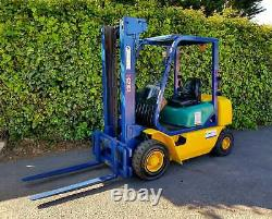 Komatsu diesel 2.5 ton Counterbalance Forklift Truck/ Caterpillar, Linde, Toyota