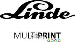 LINDE Forklift Vinyl Decals Sticker Forklift Truck Spare Parts LIN2
