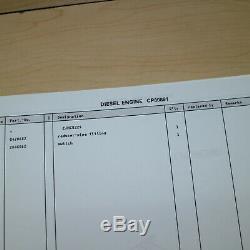 LINDE H20 H25 H30 H35-03 FORKLIFT LIFT TRUCK Parts Manual book catalog spare OEM