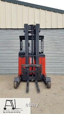 LINDE R20S 2000kg ELECTRIC REACH TRUCK FORKLIFT 5200mm HIGH REACH LOW HOURS