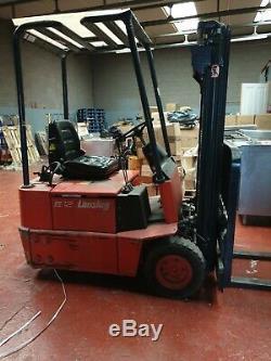 Lansing Linde E12 Electric Forklift Truck