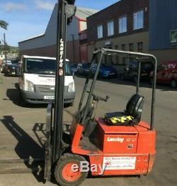 Lansing Linde E12 Electric Forklift Truck £2100.00 Inc. VAT