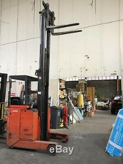 Lansing Linde Fork/ Reach Truck In Perfect Working Condition, Serviced Regularly