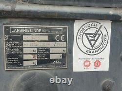 Lansing Linde Forklift Truck