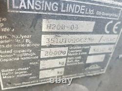 Lansing Linde H20D Forklift Truck Diesel