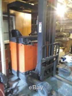 Lansing Linde R14 1400kg Electric Forklift Fork Lift Truck