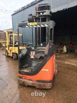 Lansing Linde R20 Reach Truck Forklift