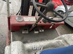 Linde 2 Ton Diesel Forklift Truck With Extra Wide Fork Positioner