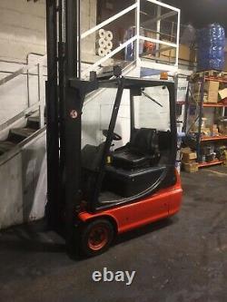Linde E 16 Electric Forklift Fork Lift Truck £4,995 + Vat
