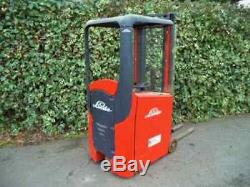 Linde E10 electric forklift truck ONLY 210 HOURS! /Not diesel Yale Atlet Hyster
