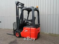Linde E12 Used Electric Forklift Truck. (#2500)