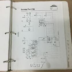 Linde E14-20 SERIES 335-02 SERVICE SHOP REPAIR MANUAL ELECTRIC FORK LIFT TRUCK